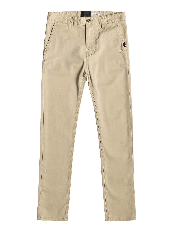Quiksilver Krandy Pantalon Chino Slim pour gar/çon 8-16 Ans EQBNP03072