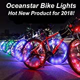 #5: Bicycle Wheel Lights - Ultra Bright Waterproof LED by Oceanstar w/$5 Credit on Future Orders!