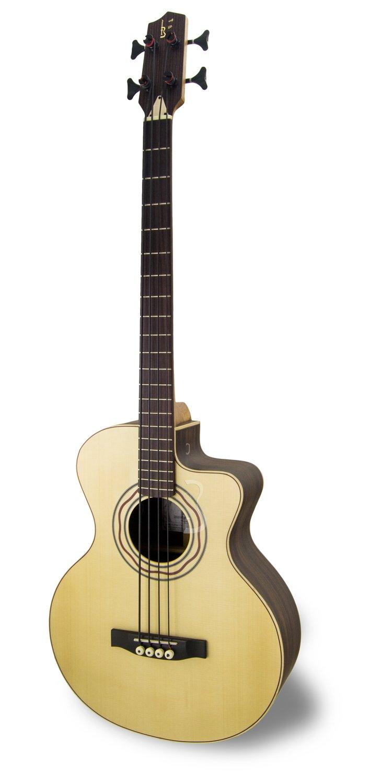 APC BG Luthier CW Bass Akustikgitarre (Mit Koffer) APC Instruments