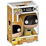 Funko - Figurine Batman 75th Anniversaire - Batman Yellow Exclu Pop 10cm - 0849803052485