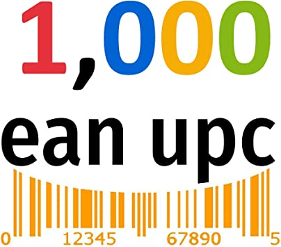 Upc Codes Certified By Gs1 For Listing On Amazon Ebay With Upc Ean Codes Number 1 000 Amazon Ca Office Products
