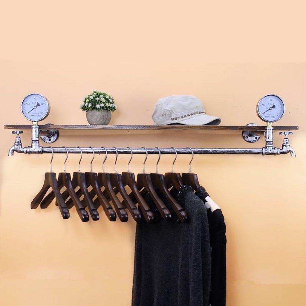 衣料品店の装飾小道具ウィンドウの表示レトロなハンガーの蛇口水パイプのディスプレイスタンド (サイズ さいず : D 125cm) B07D9LNN2F  D 125cm