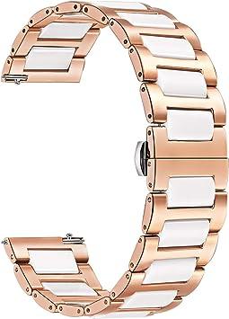 Smartwatch Armband weiß für Garmin Vivomove Vivomove HR
