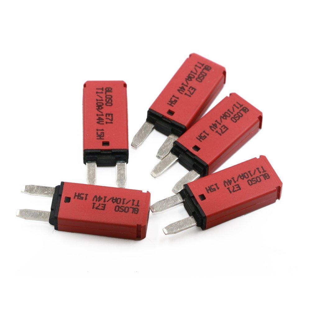 14vdc Auto Reset Circuit Breaker Atm Mini Blade Fuses 10a