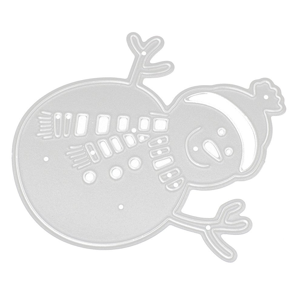 Longra/® Metal Cutting Dies Stencils For DIY Scrapbooking Photo Album Paper Card Gift!More Choose!!!❤️ B1 Size:86*83mm Merry Christmas! DIY Scrapbook