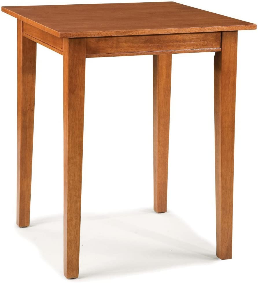 Arts and Crafts Cottage Oak Bistro Table by Home Styles