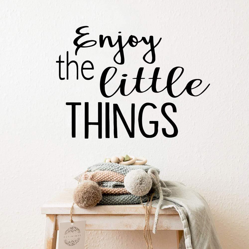 nkfrjz Frase Personalizada Disfrutar de Las pequeñas Cosas de ...