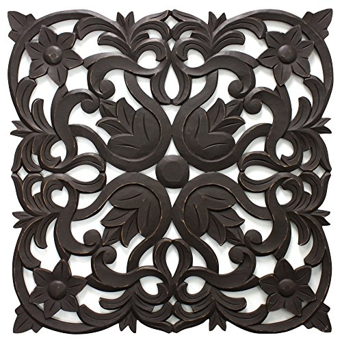 Fetco Home Decor (Fetco Home Décor Medallion Vaughn Wall Art, 30
