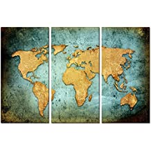 Amazoncom Kolo Wall Art - Large framed us map