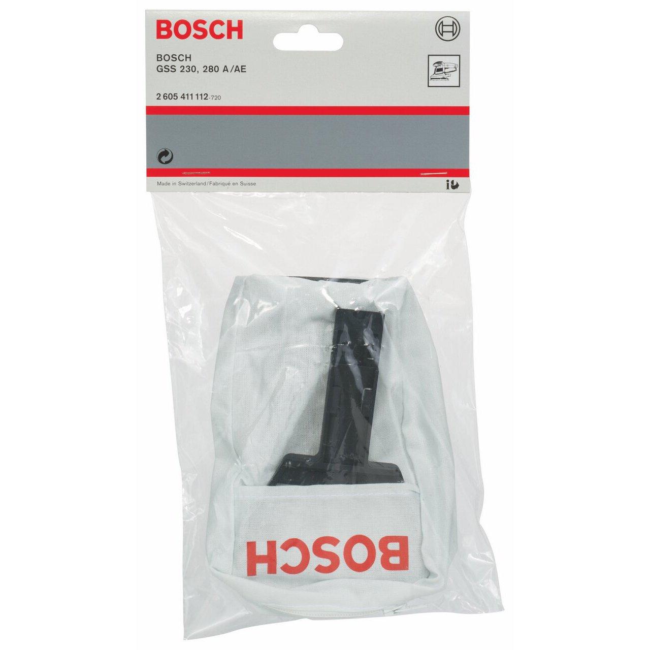Bosch 2605411112 Sac daspiration en tissu Pour GSS 230//280