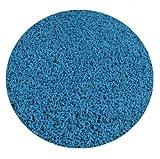 Bright Circus Blue - 5' ROUND Custom Carpet Area Rug