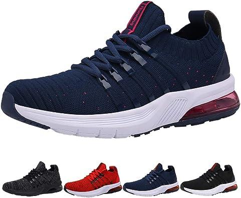 Zapatillas Running Hombre Mujer Tenis de Deportivas Casual para ...