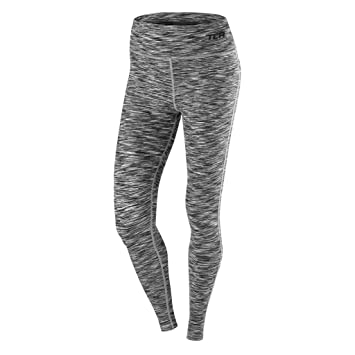 cd691df7b4401 Women's TCA SpaceKnit Premium Running Workout Tights: Amazon.co.uk ...