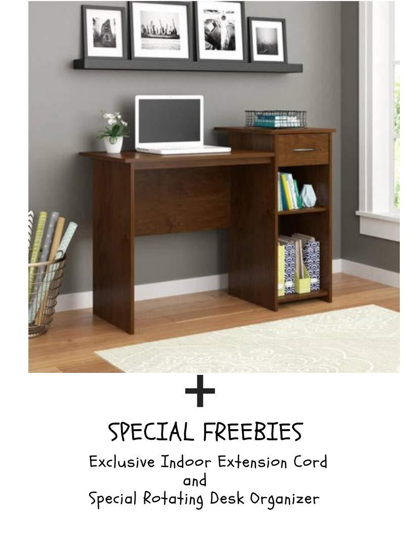 Mainstays Student Desk, Black (Desk Only, Black) Mainstay`