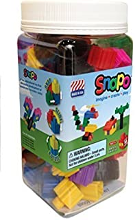 product image for Snapo Build & Go Building Blocks Starter Set - 80 Pieces - Multi-Colored