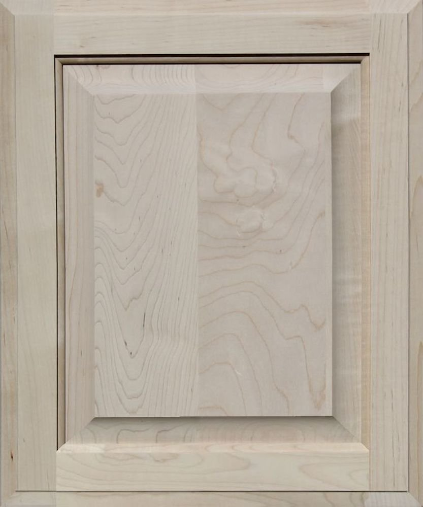Unfinished Maple Cabinet Door, Square with Raised Panel by Kendor, 18H x 15W Kendor Wood Inc.