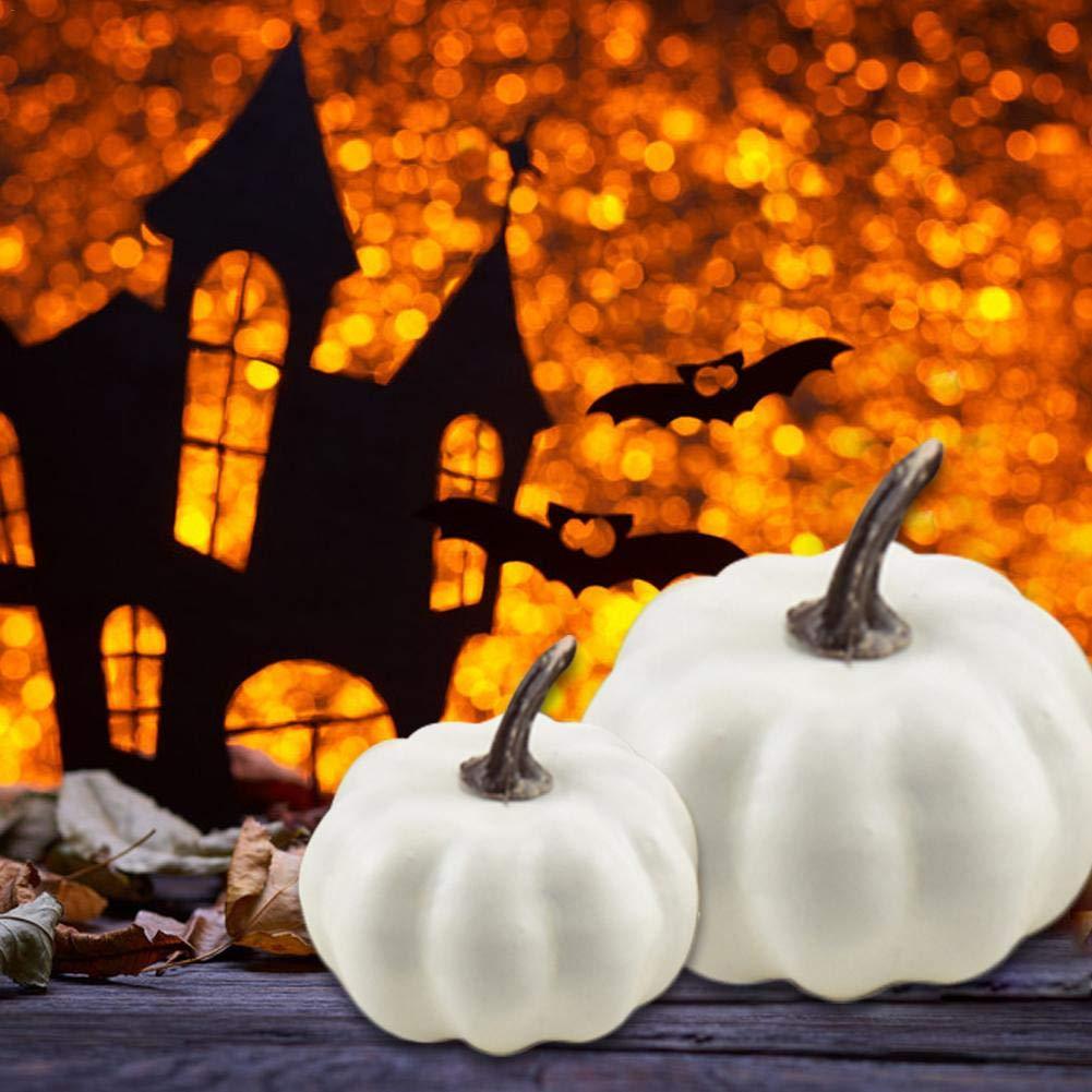 Speisek/ürbis Wood.L Deko-K/ürbisse Halloween Zierk/ürbisse-Dekok/ürbisse F/ür Halloweendeko Und Herbstdeko