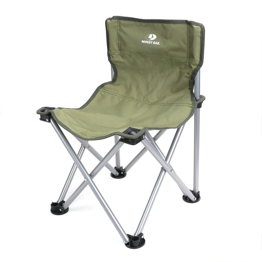 Mossy Oak Folding Camping Chair Mini Backrest Stool Lightweight Portable with Carry Bag,Green,Max Load 220 Lbs, 20.5 x 14 x 13 inch Hang Zhou Great Star Industrial Co. LTD