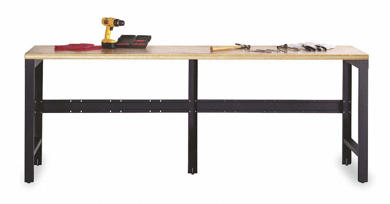 Metal Box Industries COS-SVBNCH MBI Garage Storage System - Workbench, Silver/Black