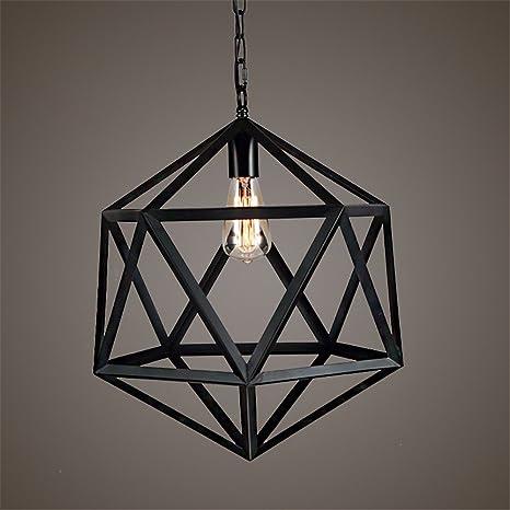 larsure Vintage Modern Lámpara colgante de techo (lámpara colgante lámpara Loft Antiguo schmiedeeisernen kronleuchtern y