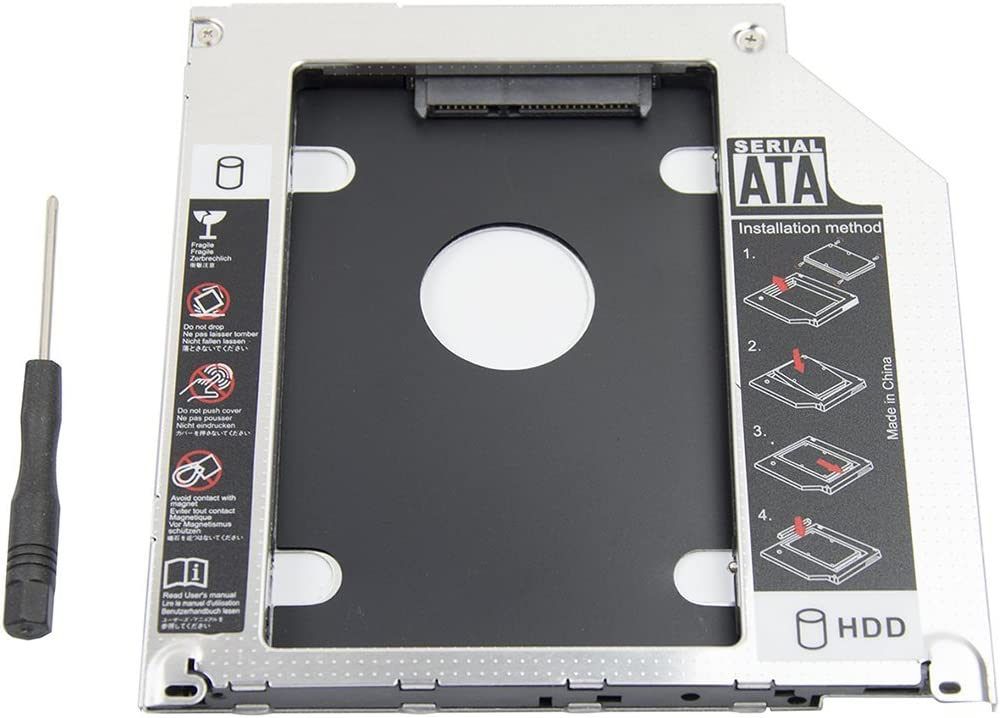 Reemplazo Un. Optica Por Ssd/hdd Para Macbook / Pro 13 15 17