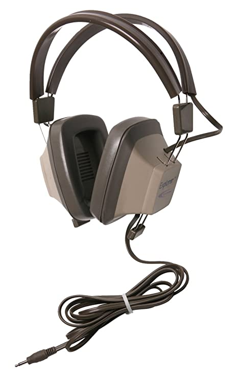 Amazon com: Califone EH-2 Explorer Binaural Headphone with 3 5 mm