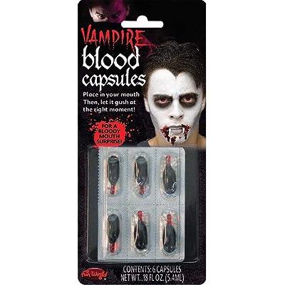 Halloween Vampire Blood Capsules: Clothing