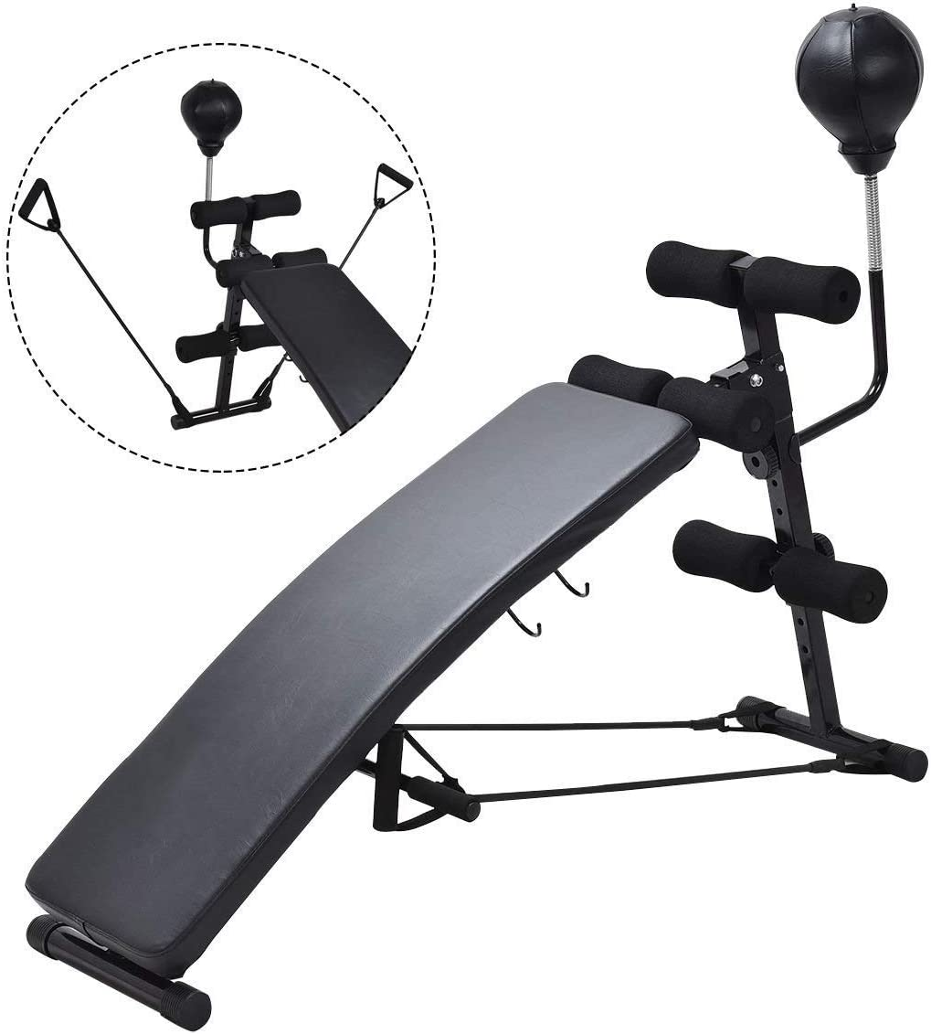 GYMAX Sit up Bench