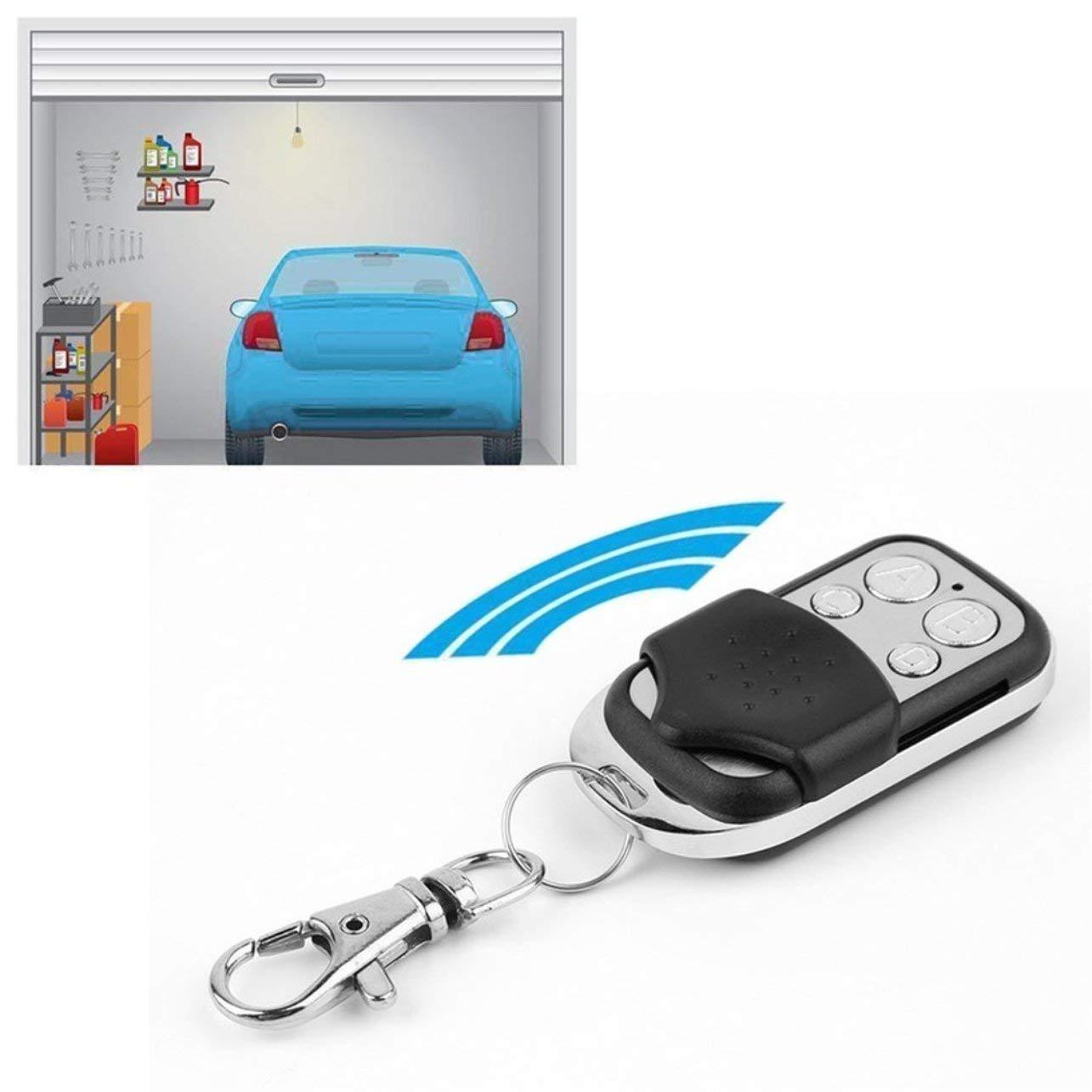 433 MHz RF 4 canales clonaci/ón Duplicator Key Fob Un controlador de puerta de garaje el/éctrico de aprendizaje a distancia IC modelo 2262 2260 1527 2240