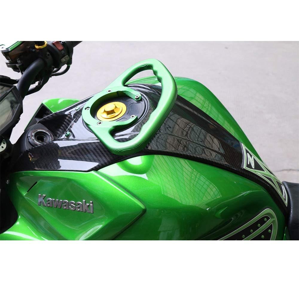 para Kawasaki Z800 Z1000 Cyclist Store Empu/ñadura CNC para motocicleta