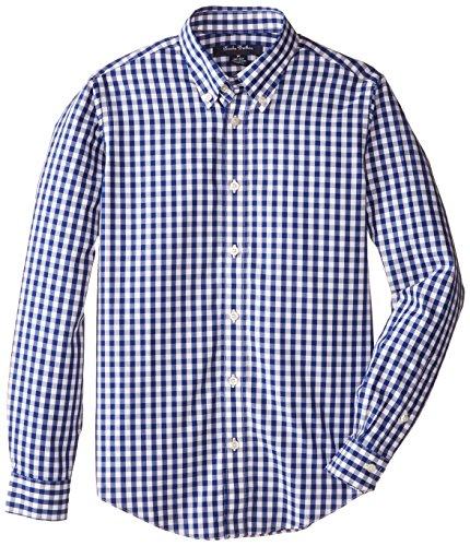 Brooks Brothers Big Boys' Ni Gingham Shirt