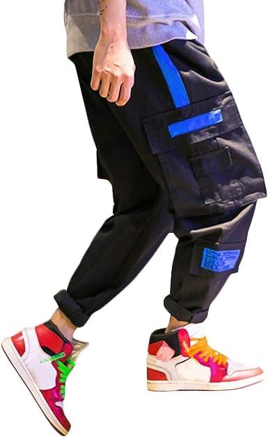 Pantalones Chinos De Moda Pantalones Festiva Para De Hombre Ropa Trabajo De Carga Para Adolescentes Y Ninos Pantalones De Combate Deportivos Casuales De Hip Hop Diseno Original Amazon Es Ropa Y Accesorios