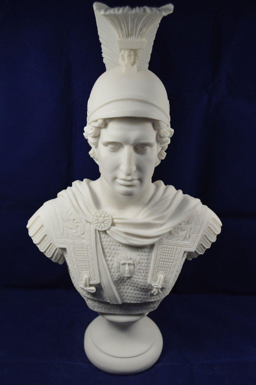 Alexander Sculpture The Great Macedonian King Great Large Bust Estia Creations