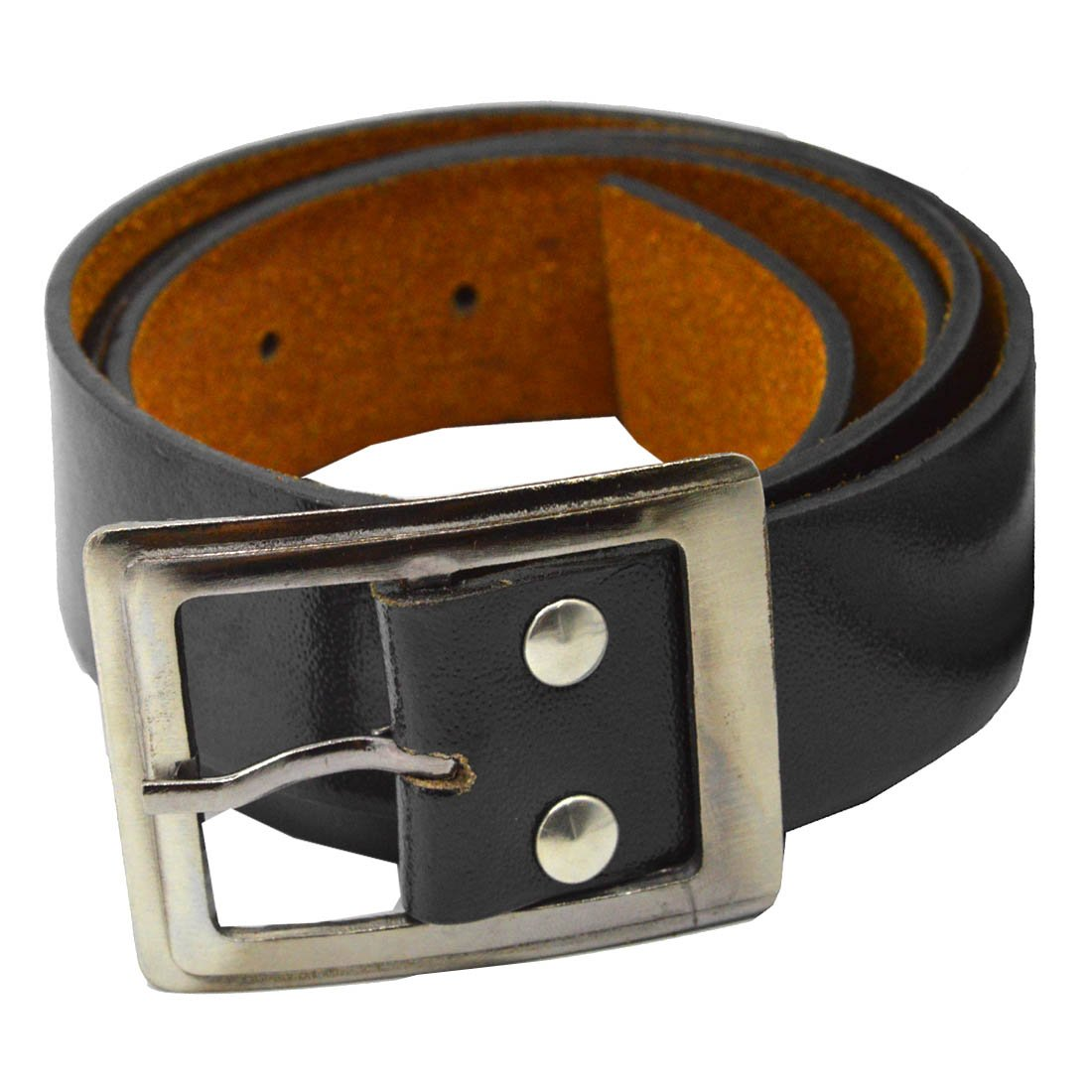 3ee5456b2 Faynci Super Collection Designed Black Color Belt for Boys and Mens   Amazon.in  Clothing   Accessories