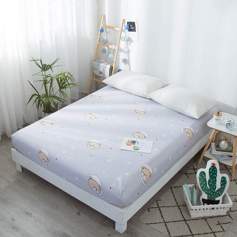 Hllhpc para Nordic Ins Wind Sheets Cubierta de Cama de Belleza Cubierta de Cama Pieza única 7 135 * 200 + 25Cm: Amazon.es: Hogar