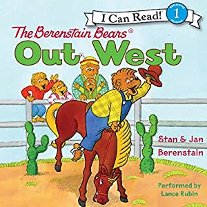 The Berenstain Bears Out West Audiobook