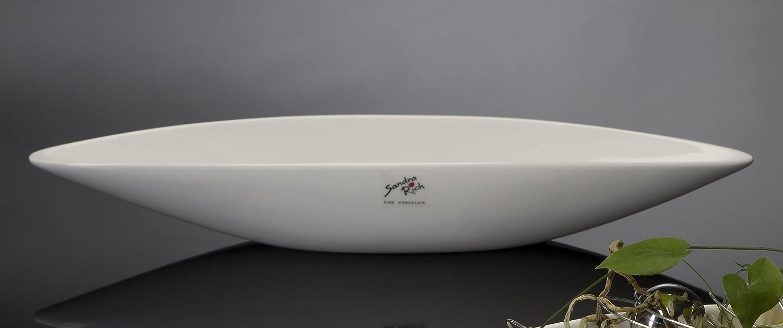 Schale Elongate Porzellan 40cm