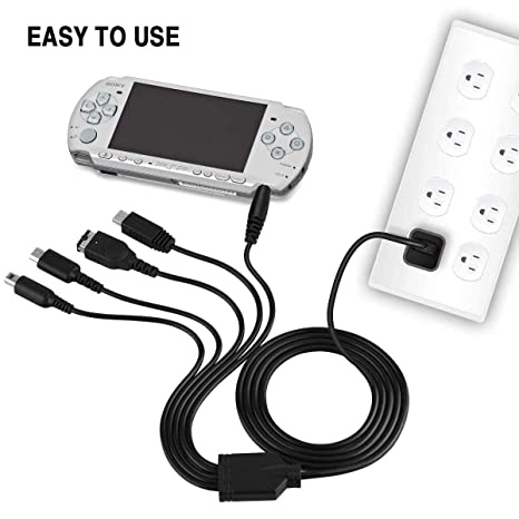 Amazon.com: 5 en 1 USB Cable cargador 3DS, Multi Cable ...