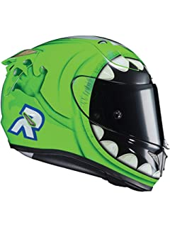 Casco Moto Hjc Rpha 11 Mike Wazowski Mc4 Verde (S, Verde)