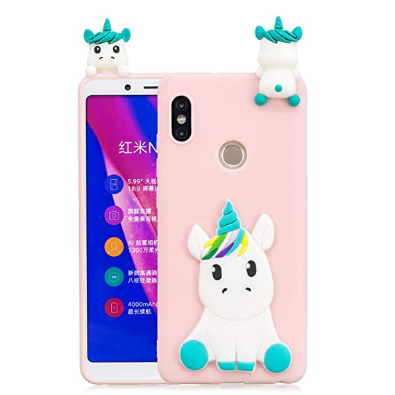 quality design 57906 44696 Amazon.com: Redmi Note 5 Pro Case, DAMONDY 3D Cute Unicorn Cartoon ...