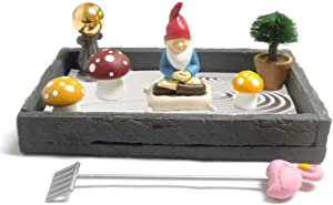 Gnome in the Home Tabletop Zen Garden