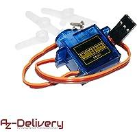 AZDelivery SG90 Micro Servo Motor 9G para RC