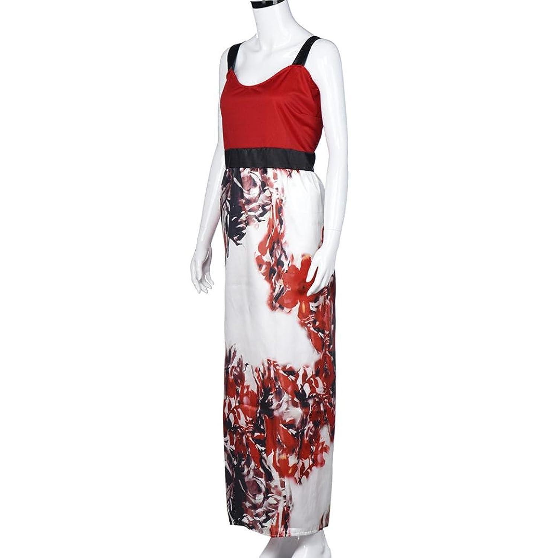 Kleider , Frashing Frauen Plus Size Floral Lange Abendgesellschaft ...