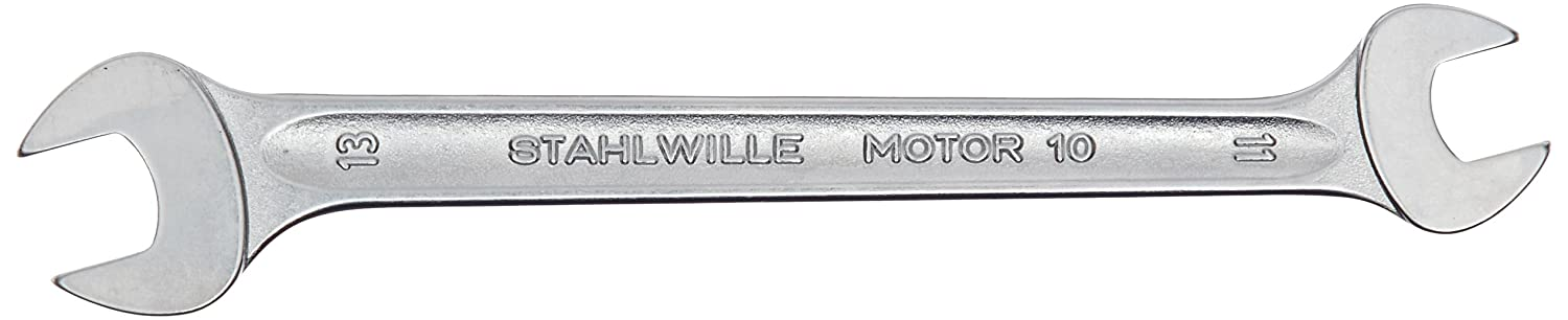 Stahlwille STW1010X11 10 x 11 mm Double Open Ended Spanner Silver