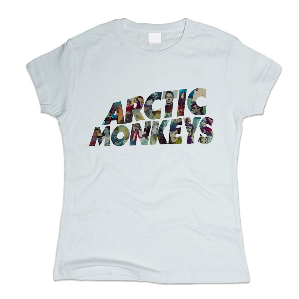 Tops & Tees New Arrival 2018 Women Fashion Printed T-shirt Arctic Monkeys Short Sleeve Casual Design T Shirt Female Arctic Monkeys Tshirt Vivid And Great In Style