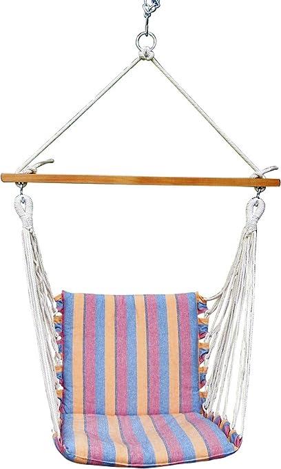 Oak N Oak Comfortable Relaxing Indoor Outdoor Hanging Chair