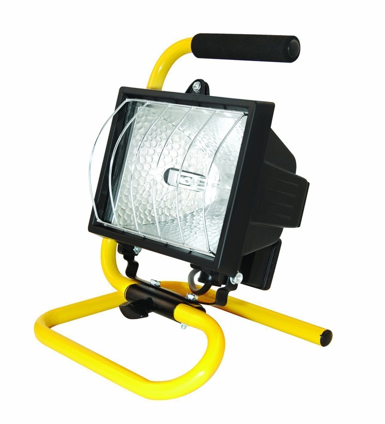 Unibos Portable 500W Halogen Work Light Floodlight Spot Lamp Garden Indoor Outdoor Powerful Light