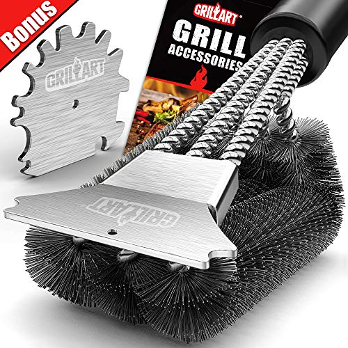 GRILLART Grill Brush and