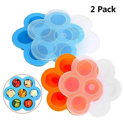 Amazon.com: Sharlity - Juego de 2 moldes de silicona para ...