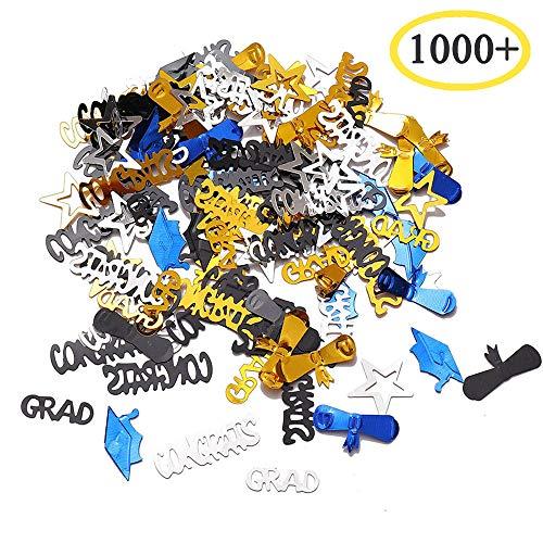Graduation Confetti Table Decorations 2019 - Graduation Party Supplies 1.8 Ounce Graduation Table Confetti Decorations ()